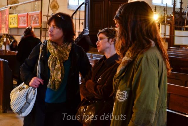 Les institutrices de La Ferté-Milon à l'exposition